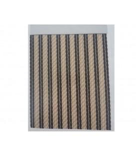 cortina cordon macarron liso